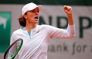19-летняя польская теннисистка выиграла Ролан Гаррос