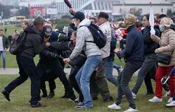 Как белорусы оказывали сопротивление карателям на Марше Гордости