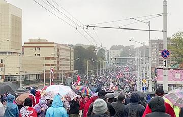На Марш Гордости в Минске вышло более 100 тысяч человек