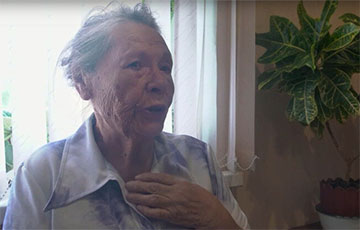 Найстарэйшая ўдзельніца Маршаў расказала, чаму ў свае 91 выходзіць пратэставаць