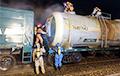 На железнодорожной станции под Слуцком произошла утечка соляной кислоты