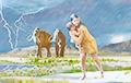 В США обнаружили уникальную цепочку следов доисторического человека