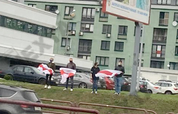 """Minsk """"Cascade"""" Went Out To Protest"""