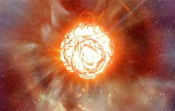 Ученые нашли объяснение странного поведения звезды Бетельгейзе