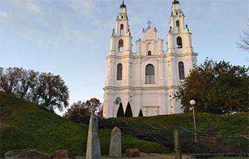 Возле Софийского собора в Полоцке перестал течь легендарный источник