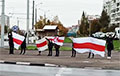 Жители Витебска выходят на Партизанский марш