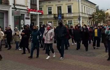 Брестчане вышли на Партизанский марш