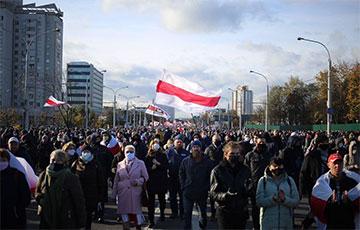 Партизанский марш движется в сторону Серебрянки