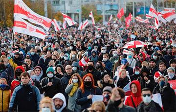 «Польское радио»: Белорусы 71 день подряд протестуют против режима Лукашенко