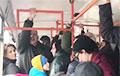 «Партизанский трамвай» поет «Разбуры турмы муры»