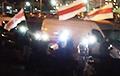 На вечернем марше в Сухарево придумали оригинальную кричалку