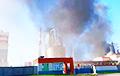Як мінімум адзін чалавек загінуў у пажары на Светлагорскім цэлюлозна-кардонным камбінаце