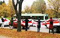 Минчане с утра вышли на акцию протеста возле станции метро «Восток»
