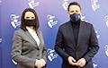 Светлана Тихановская встретилась с мэром Варшавы Рафалом Тшасковским