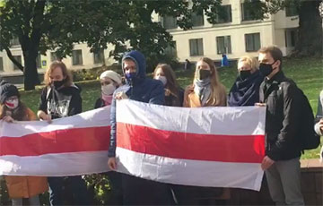Students Of BSU Law Faculty Went Out For Solidarity Event
