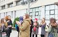 Будущие журналисты и философы из БГУ вышли на акцию протеста