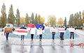 В Гамбурге продолжаются демонстрации перед зданием Lufthansa Technik AG, где находится самолет Лукашенко