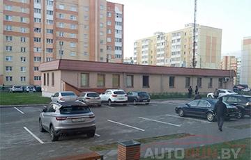 Кроме машин, в Солигорске горело здание комитета судебных экспертиз