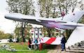 У Сцяпянцы заўважылі бел-чырвона-белую авіяцыю