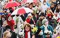 В Минске прошел Гордый женский марш