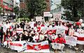 В Токио прошел марш в поддержку белорусов