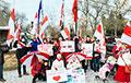 Белорусы Эдмонтона провели акцию-марш в поддержку Национальной забастовки