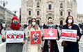 Беларусы Мілана падтрымалі тых, хто выходзіць на нядзельны Марш