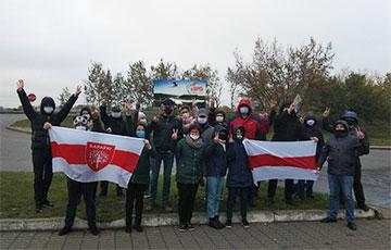 Барановичи вышли на акцию протеста