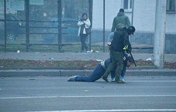 Фашысты Караева выкарыстоўвалі святло-шумавыя гранаты проста побач з радзільняй ў Менску