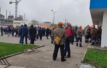 Рабочий «Гродно Азот» рассказал, как происходит забастовка на предприятии