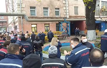 Кузнечный цех МТЗ остановил работу и призывает к забастовке
