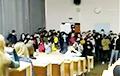 Видеофакт: Протест студентов Белорусского государственного университета информатики и радиоэлектроники
