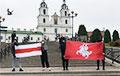 Минчане по всему городу выражают солидарность с бастующими