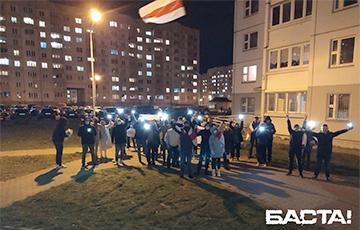 Каменная Горка вышла на марш против диктатуры