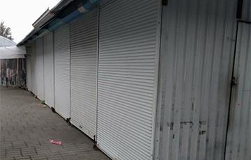 Рынок в Лиде присоединился к забастовке