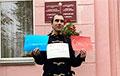 Географ Иван Булва вышел на пикет к минской гимназии №8