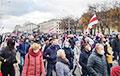 «Уходи!»: протестующие идут Маршем по Минску