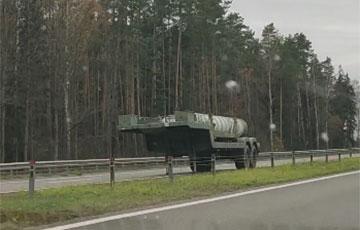 Белорусские военные потеряли ракету от комплекса С-300