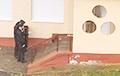 В Гродно подожгли опорный пункт милиции
