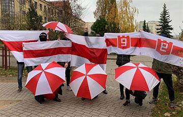 Жители Гродно вышли на протестный марш