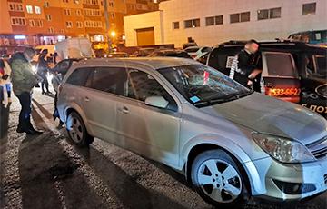 Фашисты из ГАИ разбивали машины людей, приехавших почтить память Романа Бондаренко