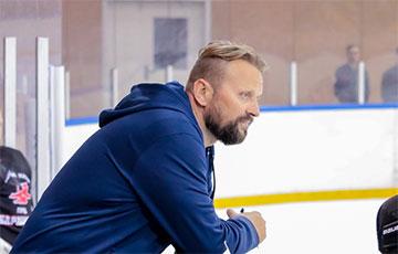 Хоккейный тренер Александр Руммо с семьей покинул Беларусь