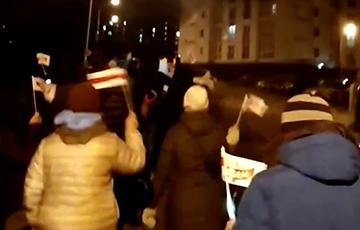 Минчане вышли на протестный марш