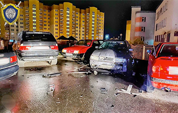 Interior Ministry Employee's Car Blown Up In Hrodna