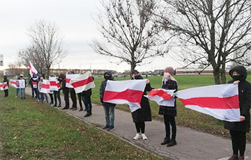 Minsk Residents Took Part in Solidarity Protests in the Morning