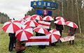 Жодинские партизанки передали привет всем белорускам