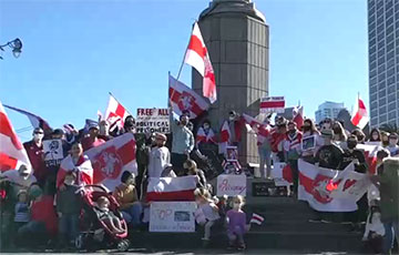 Rally in Memory of Raman Bandarenka Was Held in San Francisco