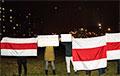 В Гомеле на вечерней акции потроллили лукашистов