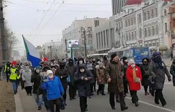 Хабаровчане поддержали белорусов