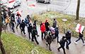 Жыхары Заслаўя выйшлі на пратэстны Марш